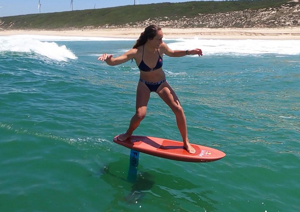 justine dupont foil waterwoman