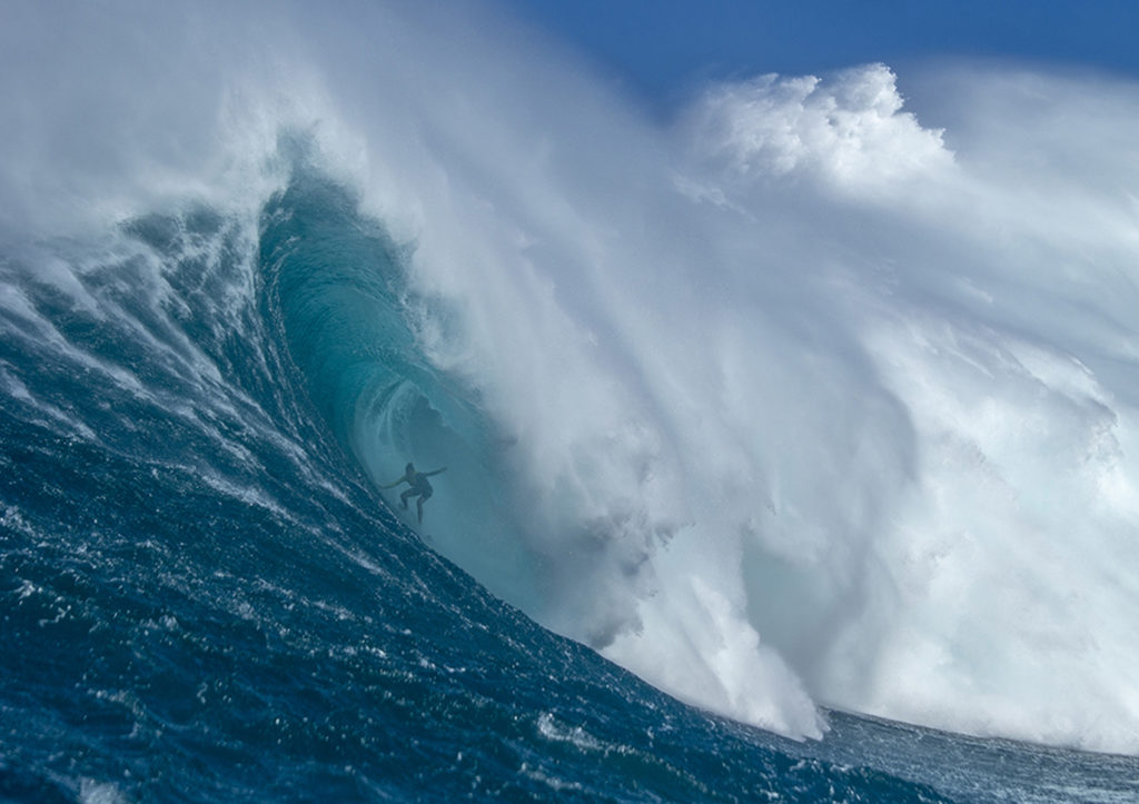 justine dupont peahi ride of the year