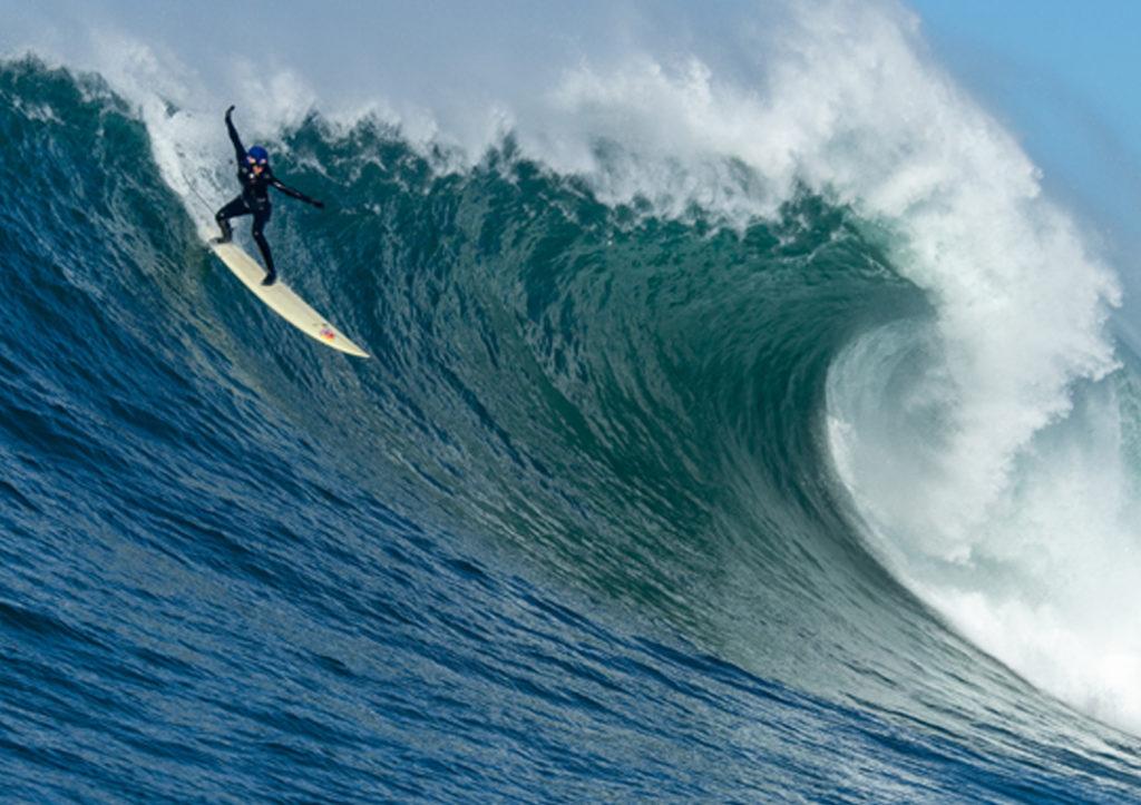 justine dupont big wave surfing mavericks